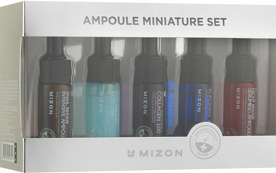 Set - Mizon Ampoule Miniature Set (f/ser/5x9.3ml) — photo N1