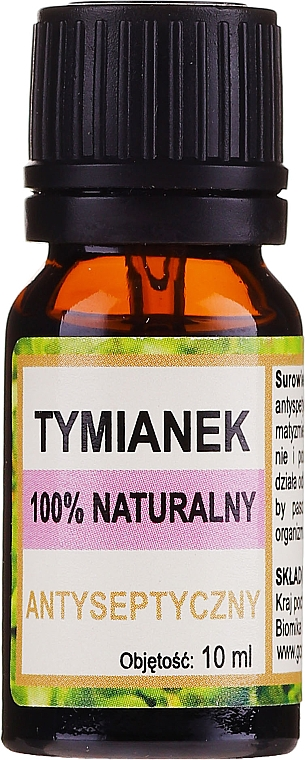 """Natural Essential Oil """"Thyme"""" - Biomika Thyme Oil"""