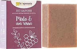 """Fragrances, Perfumes, Cosmetics Biosoap """"Myrtle and Red Grapes"""" - La Saponaria Bio Sapone"""