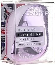Fragrances, Perfumes, Cosmetics Hair Brush - Tangle Teezer Compact Styler Lilac Gleam