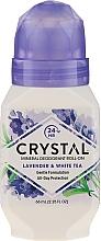 Fragrances, Perfumes, Cosmetics Lavander and White Tea Scented Roll-On Deodorant - Crystal Essence Deodorant Roll-On
