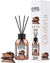 "Fragrances, Perfumes, Cosmetics Reed Diffuser ""Chocolate"" - Eyfel Perfume Reed Diffuser Chocolate"