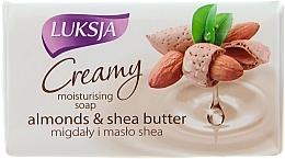 Fragrances, Perfumes, Cosmetics Cream-Soap with Almond and Shea Butter - Luksja Creamy Almond Shea Butt Soap