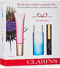 Fragrances, Perfumes, Cosmetics Set - Clarins Multi Active Yeux Set (eye/cr/15ml + makeup/remover/30ml + mascara/3.5ml)