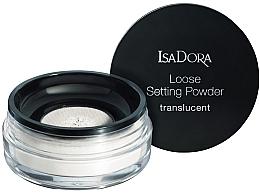 Fragrances, Perfumes, Cosmetics Transparent Loose Powder - IsaDora Loose Setting Powder Translucent