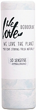 Fragrances, Perfumes, Cosmetics Solid Deodorant for Sensitive Skin - We Love The Planet So Sensitive Deodorant Stick
