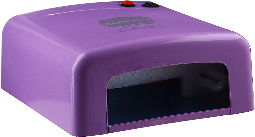 "Nail UV Lamp ""Clara"", purple - Ronney Professional UV 36W (GY-UV-818)"