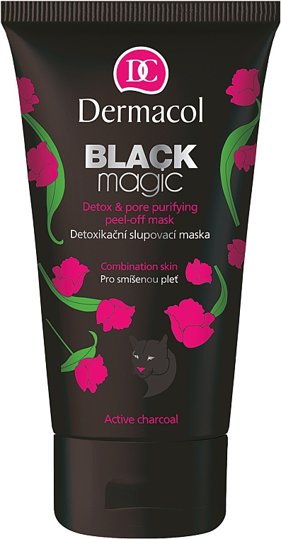 Peel Off Face Mask - Dermacol Black Magic Detox&Pore Purifying Peel-Off Mask