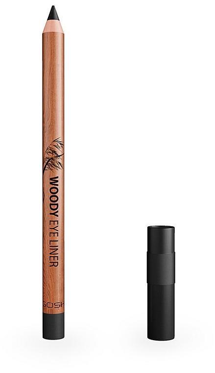 Waterproof Eye Pencil - Gosh Woody Eye Liner