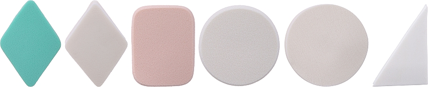 Latex Makeup Sponges, 498982, 24pcs - Inter-Vion №14 — photo N1