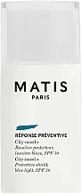 Fragrances, Perfumes, Cosmetics Facial Day Cream - Matis Reponse Preventive City-Mood + SPF 50