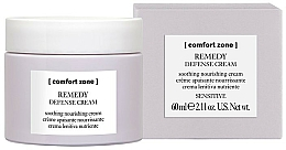 Fragrances, Perfumes, Cosmetics Soothing & Protecting Face Cream - Comfort Zone Remedy Defense Cream