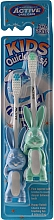 Fragrances, Perfumes, Cosmetics Kids Toothbrush, 3-6 years, green + blue - Beauty Formulas Active Oral Care
