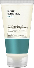 Fragrances, Perfumes, Cosmetics Wash Gel with Micro Granules - Tolpa Dermo Sebio Face Gel