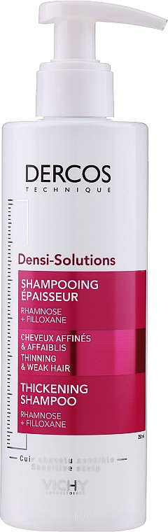 Thin Hair Shampoo - Vichy Dercos Densi-Solutions Shampoo
