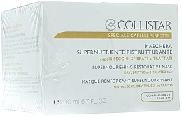 Fragrances, Perfumes, Cosmetics Dry Hair Mask - Collistar Supernourishing Restorative Mask