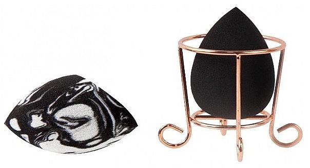 Makeup Sponge Set with Basket - Donegal