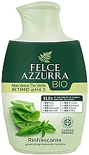 Fragrances, Perfumes, Cosmetics Liquid Soap for Intimate Hygiene - Felce Azzurra BIO Aloe Vera&Green Tea