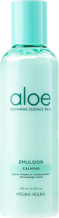Moisturizing Face Emulsion - Holika Holika Aloe Soothing Essence 90% Emulsion Calming