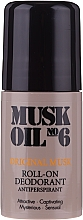 Fragrances, Perfumes, Cosmetics Roll-On Antiperspirant - Gosh Musk Oil No.6 Roll-On Deodorant