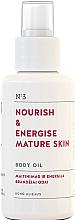 Fragrances, Perfumes, Cosmetics Nourishing Body Oil for Mature Skin - You & Oil Nourish & Energise Body Oil