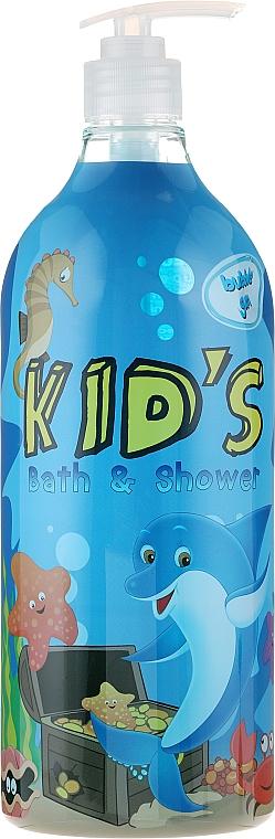 Bath & Shower Gel Foam - Hegron Kid's Bubble Gum Bath & Shower
