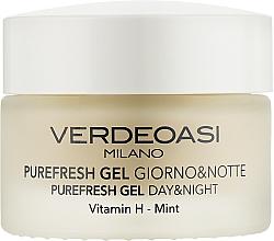 Fragrances, Perfumes, Cosmetics Cleansing & Moisturizing Day & Night Face Gel - Verdeoasi Purefresh Gel Day&Night