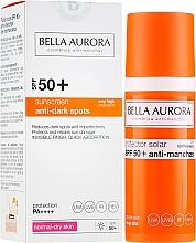 Fragrances, Perfumes, Cosmetics Facial Sunscreen Fluid - Bella Aurora Anti-Manchas Treatment SPF50+