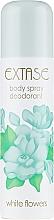 Fragrances, Perfumes, Cosmetics Deodorant - Extase White Flowers Deodorant