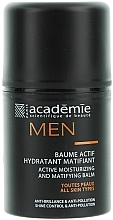 Fragrances, Perfumes, Cosmetics Active Moisturizing Mattifying Balm - Academie Men Active Moist & Matifying Balm
