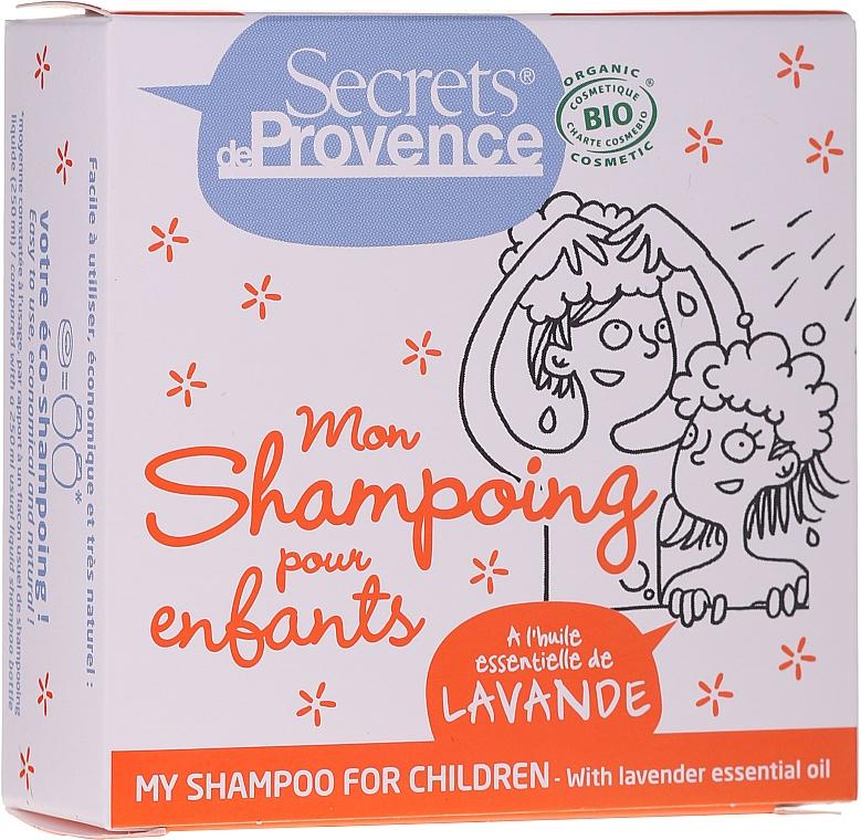 Kids Solid Shampoo - Secrets De Provence My Children Shampoo Lavender Essential Oil