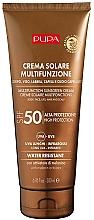 Fragrances, Perfumes, Cosmetics Moisturizing Sunscreen Body Cream SPF 50 - Pupa Multifunction Sunscreen Cream