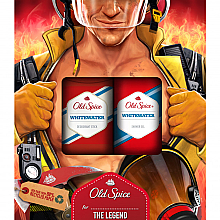 Fragrances, Perfumes, Cosmetics Set - Old Spice WhiteWater Fireman (deo/50g + sh/gel/250ml)