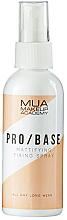 Fragrances, Perfumes, Cosmetics Mattifying Fixing Spray - MUA Pro Base Mattifying Fixing Spray