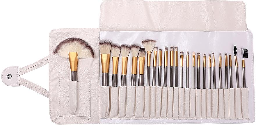 Makeup Brush Set, 24 pcs - Lewer