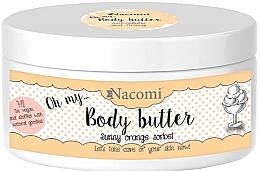 Fragrances, Perfumes, Cosmetics Body Oil - Nacomi Body Butter Sunny Orange Sorbet