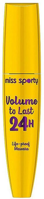 Lash Mascara - Miss Sporty Volume To Last 24h