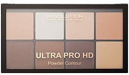 Fragrances, Perfumes, Cosmetics Contour Palette - Makeup Revolution HD Pro Powder Contour