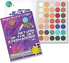 Fragrances, Perfumes, Cosmetics Eyeshadow Palette - Rude Return Of The Jet Eyeshadow Palette