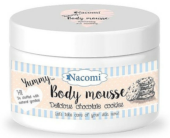 """Body Mousse """"Chocolate Cookie"""" - Nacomi Body Mousse"""