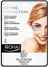 Fragrances, Perfumes, Cosmetics Eye Patches - Iroha Nature Platinum Patches Extra Glowing Eyes