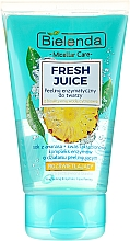 "Fragrances, Perfumes, Cosmetics Brightening Face Peeling ""Pineapple"" - Bielenda Fresh Juice Peel"