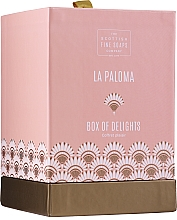 Fragrances, Perfumes, Cosmetics Scottish Fine Soaps La Paloma - Set (edt/50ml + sh/gel/75ml + b/oil/75ml)