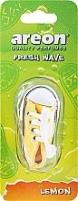 Fragrances, Perfumes, Cosmetics Car Air Freshener - Areon Fresh Wave Lemon