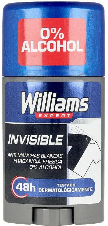 Deodorant-Stick - Williams Expert Invisible Deodorant Stick