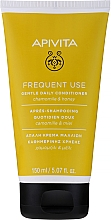 Fragrances, Perfumes, Cosmetics Chamomile & Honey Conditioner - Apivita Gentle Daily Conditioner For All Hair Types With Chamomile & Honey