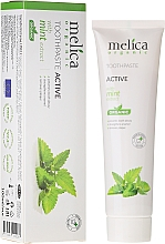 Fragrances, Perfumes, Cosmetics Mint Extract Toothpaste - Melica Organic