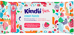 Fragrances, Perfumes, Cosmetics Antibacterial Refreshing Wipes - Cleanic Kids Care