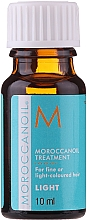 Fragrances, Perfumes, Cosmetics Repair Oil for Fine and Light Colored Hair - Moroccanoil Treatment For Fine And Light-Colored Hair