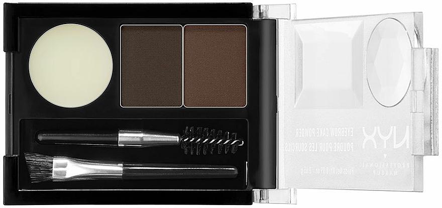 Brow Shadow - NYX Professional Makeup Eyebrow Cake Powder